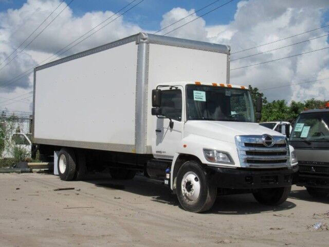 2017 Hino 268A 26' Dry Freight Box Truck with 2500 Lb Lift Gate Miami FL