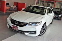 Honda Accord Coupe EX-L Leather Sunroof 1 Owner Backup Camera 2017
