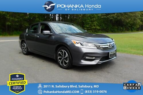 2017_Honda_Accord_EX ** SUNROOF ** Pohanka Certified 10 Year / 100,000_ Salisbury MD