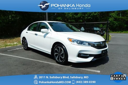 2017_Honda_Accord_EX-L ** ONE OWNER ** HONDA CERTIFIED 7 Year / 100,000  **_ Salisbury MD