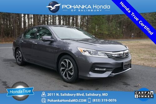 2017_Honda_Accord_EX-L ** Only 6,162 Miles ** Honda True Certified **_ Salisbury MD