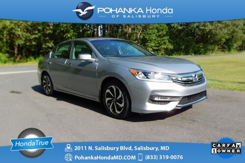 2017_Honda_Accord_EX-L Sunroof ** Honda True Certified 7 Year / 100,000_ Salisbury MD