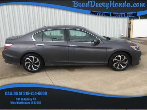 2017_Honda_Accord_EX-L_ West Burlington IA