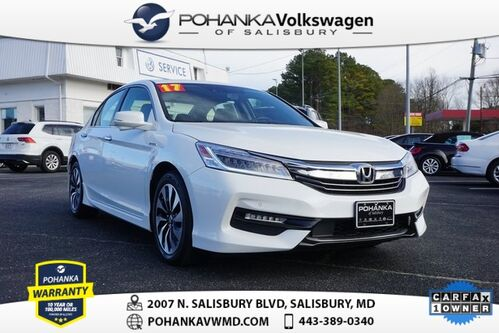 2017_Honda_Accord_Hybrid Touring ** ONE OWNER ** LOADED ** 50 MPG **_ Salisbury MD