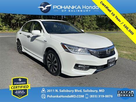 2017_Honda_Accord Hybrid_Touring ** Pohanka Certified 10 Year / 100,000 **_ Salisbury MD