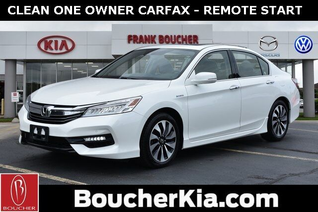 Used 2017 Honda Accord Hybrid Touring In Racine Wi