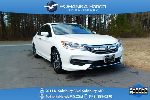 2017_Honda_Accord_LX ** Honda True Certified 7 Year / 100,000  **_ Salisbury MD
