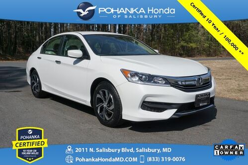 2017_Honda_Accord_LX ** Pohanka Certified 10 Year / 100,000  **_ Salisbury MD