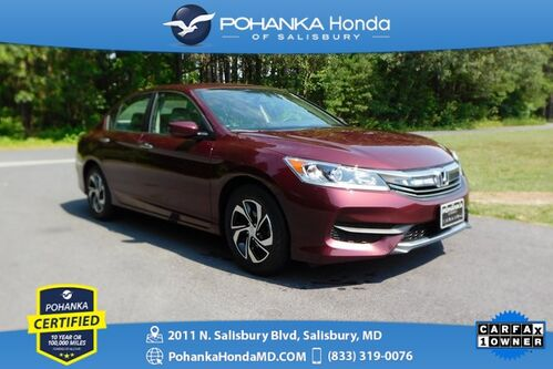 2017_Honda_Accord_LX ** Pohanka Certified 10 Year / 100,000  **_ Salisbury MD