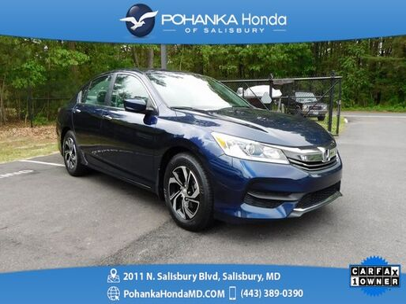 2017_Honda_Accord_LX_ Salisbury MD
