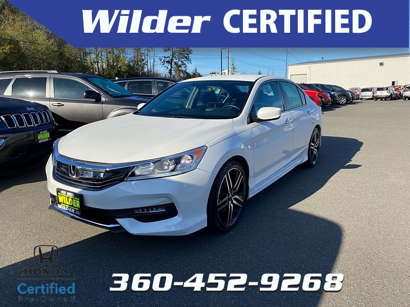 2017 Honda Accord Sedan 4d Sport SE CVT Port Angeles WA