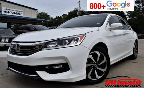 2017 Honda Accord Sedan EX-L Saint Augustine FL