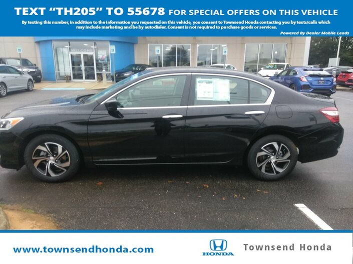 2017 Honda Accord Sedan LX 2.4L Tuscaloosa AL