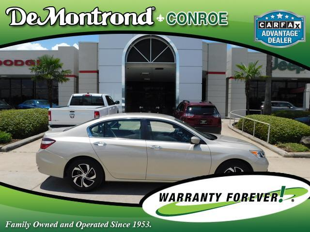 2017 Honda Accord Sedan LX CVT Conroe TX