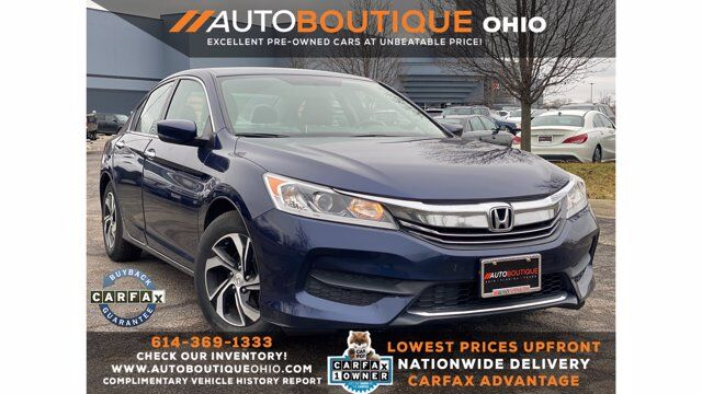 2017 Honda Accord Sedan LX Columbus OH