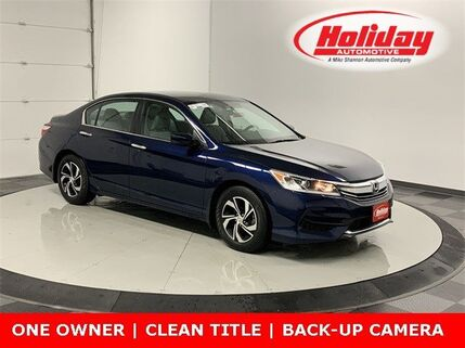 2017_Honda_Accord Sedan_LX_ Fond du Lac WI