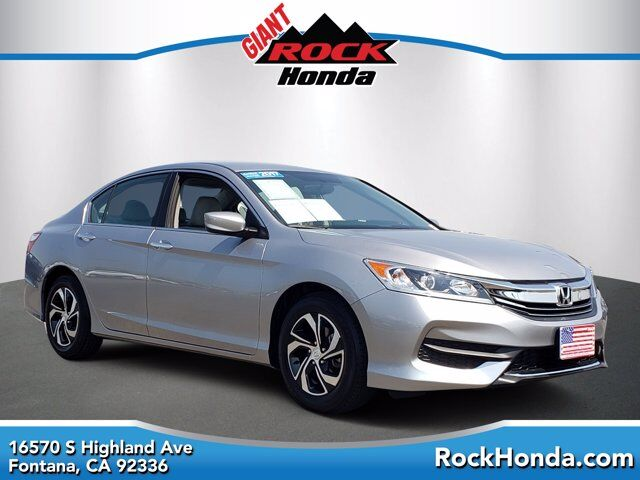 2017 Honda Accord Sedan LX Fontana CA