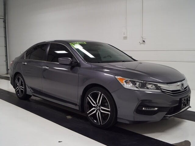 2017 Honda Accord Sedan Sport CVT Topeka KS