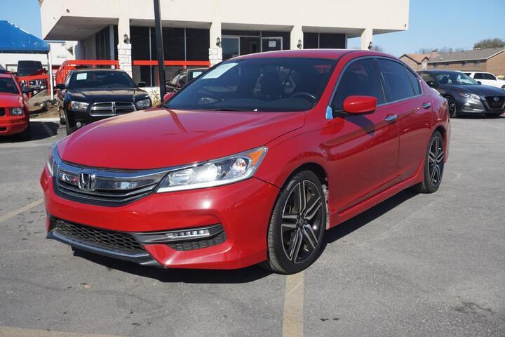 2017 Honda Accord Sedan Sport Dallas TX