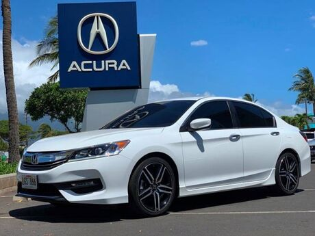 2017 Honda Accord Sedan Sport Kahului HI