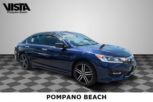 2017 Honda Accord Sedan Sport Pompano Beach FL