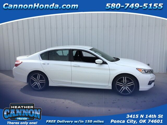 2017 Honda Accord Sedan Sport Ponca City OK