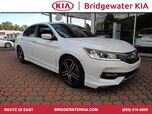 2017 Honda Accord Sedan Sport, Rear-View Camera, In-Dash CD-Player, Pandora Compatibility, Bluetooth Streaming Audio, Trunk-Lid Spoiler, 6-Speed Manual Transmission, 18-Inch Alloy Wheels,