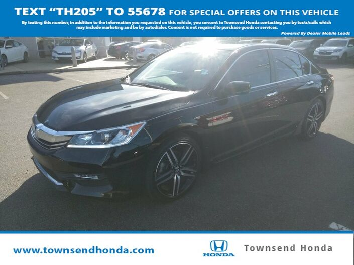 2017 Honda Accord Sedan Sport SE 2.4L Tuscaloosa AL