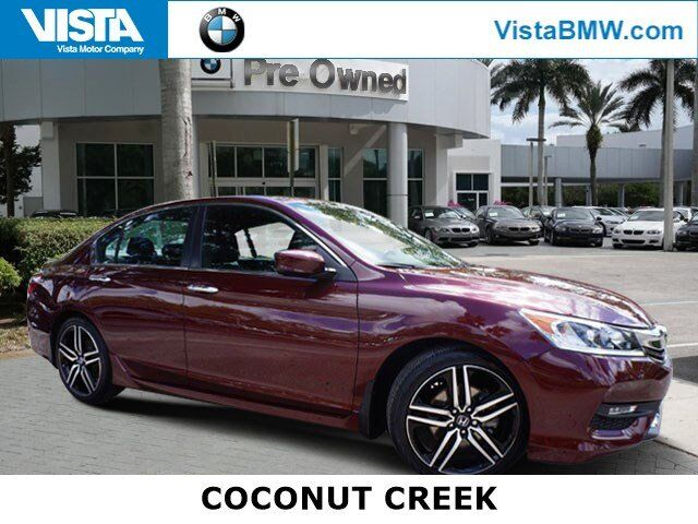 2017 Honda Accord Sedan Sport SE Coconut Creek FL