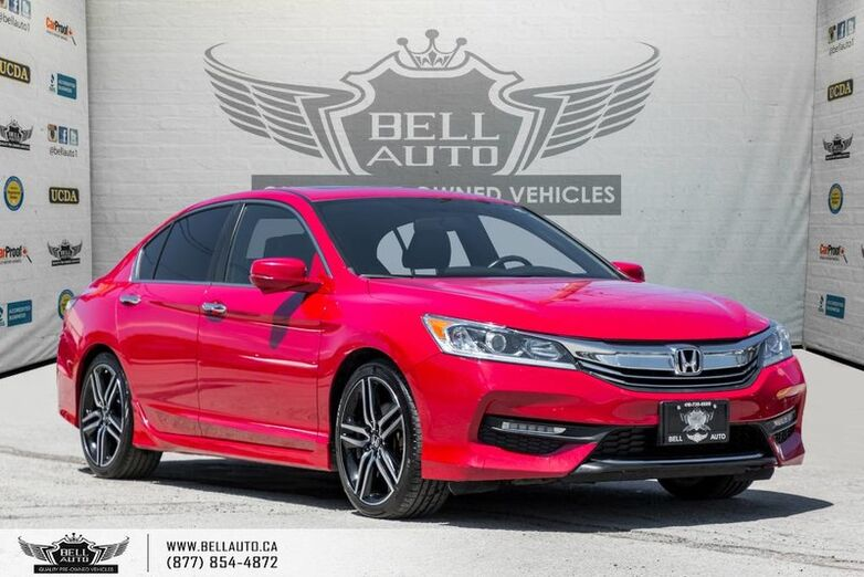 2017 Honda Accord Sedan Sport, SUNROOF, BACK-UP & SIDE CAM, PUSH START, LEATHER Toronto ON