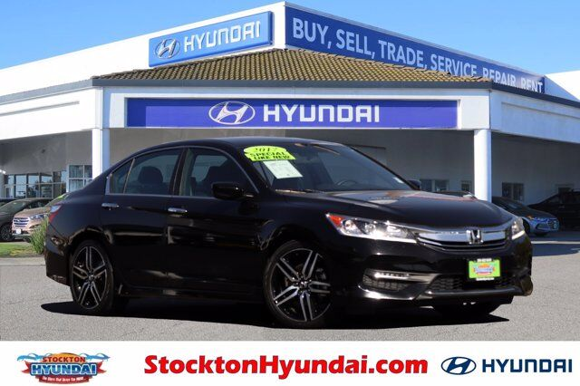 2017 Honda Accord Sedan Sport Stockton CA