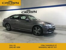 2017_Honda_Accord Sedan_V6 Touring **TOP OF THE LINE** No Accidents** 1 Owner**_ Winnipeg MB