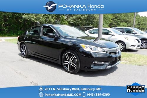 2017_Honda_Accord_Sport ** 1 Owner **  Honda Certified 7 Year/100,000 **_ Salisbury MD