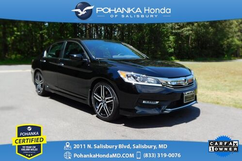 2017_Honda_Accord_Sport ** Only 8,838 Miles *Pohanka Certified 100,000*_ Salisbury MD