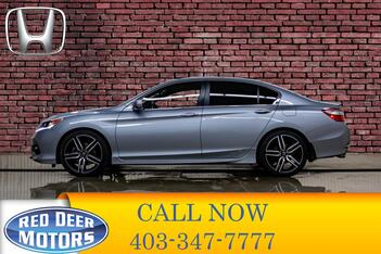 2017_Honda_Accord_Sport Leather Roof BCam_ Red Deer AB