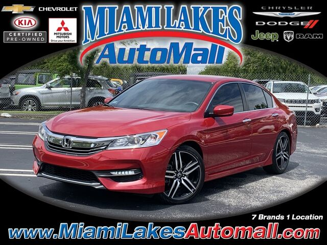 2017 Honda Accord Sport Miami Lakes FL