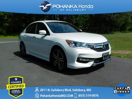 2017_Honda_Accord_Sport Special Edition ** Pohanka Certified **_ Salisbury MD