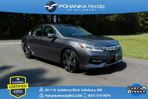 2017_Honda_Accord_Touring V6 ** NAVI ** Pohanka Certified 10 Year / 100,000_ Salisbury MD