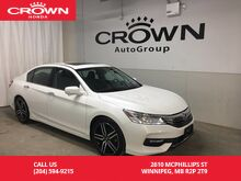 2017_Honda_Accord_V6 Touring /NO ACCIDENTS/EXECUTIVE DEMO/NAVIGATION/HEATED FRONT AND REAR SEATS/LEATHER_ Winnipeg MB