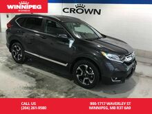 2017_Honda_CR-V_AWD/Touring/One owner/Low KM/Loaded_ Winnipeg MB