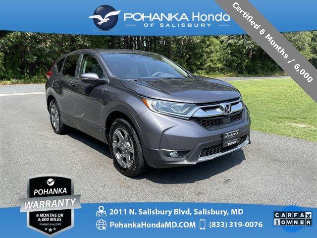 2017 Honda CR-V EX ** Certified 6 Month / 6,000 ** Salisbury MD