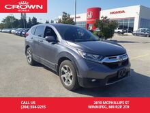 2017_Honda_CR-V_EX/Fresh Trade In/one owner lease return/ clean title/ low kms/ push start/ econ mode assist/ back up cam with lane watch/ heated seats_ Winnipeg MB