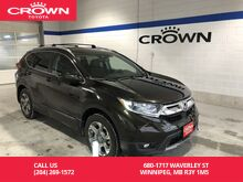 2017_Honda_CR-V_EX-L AWD / Lease Return / Local / Apple Carplay / Android Auto /Immaculate Condition / Great Value_ Winnipeg MB