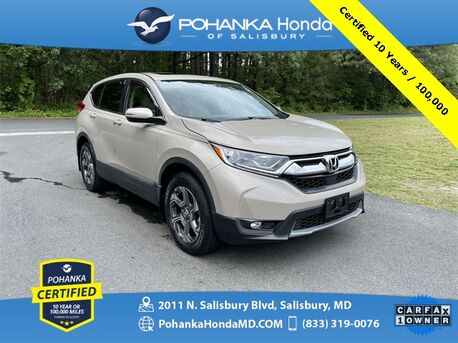 2017_Honda_CR-V_EX-L AWD **Pohanka Certified 10 Year / 100,000 **_ Salisbury MD