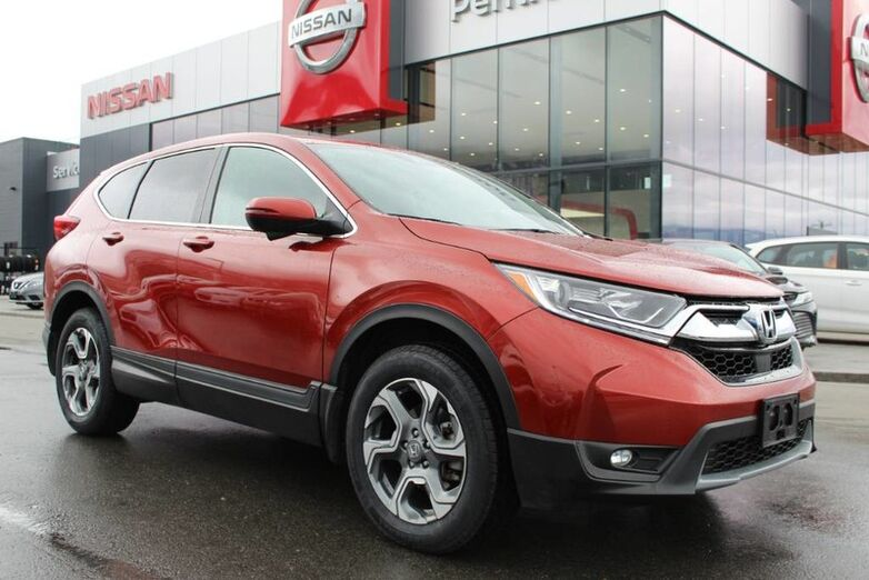 2017 Honda CR-V EX-L AWD, w/ Molten Lava Pear Exterior and Back Up Camera, manufacture warranty remaining Kelowna BC