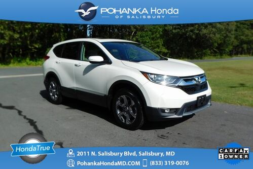 2017_Honda_CR-V_EX-L Navi AWD ** Honda True Certified 7 Year/100,000  *_ Salisbury MD