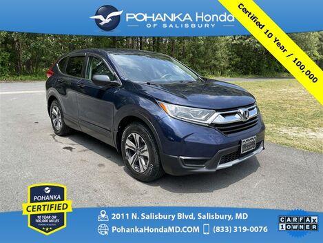 2017_Honda_CR-V_LX ** Pohanka Certified 10 Year / 100,000 **_ Salisbury MD