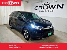 2017_Honda_CR-V_LX/2wd/low kms/one owner/ push start button/ heated seats/back up camera/ econ mode assist_ Winnipeg MB