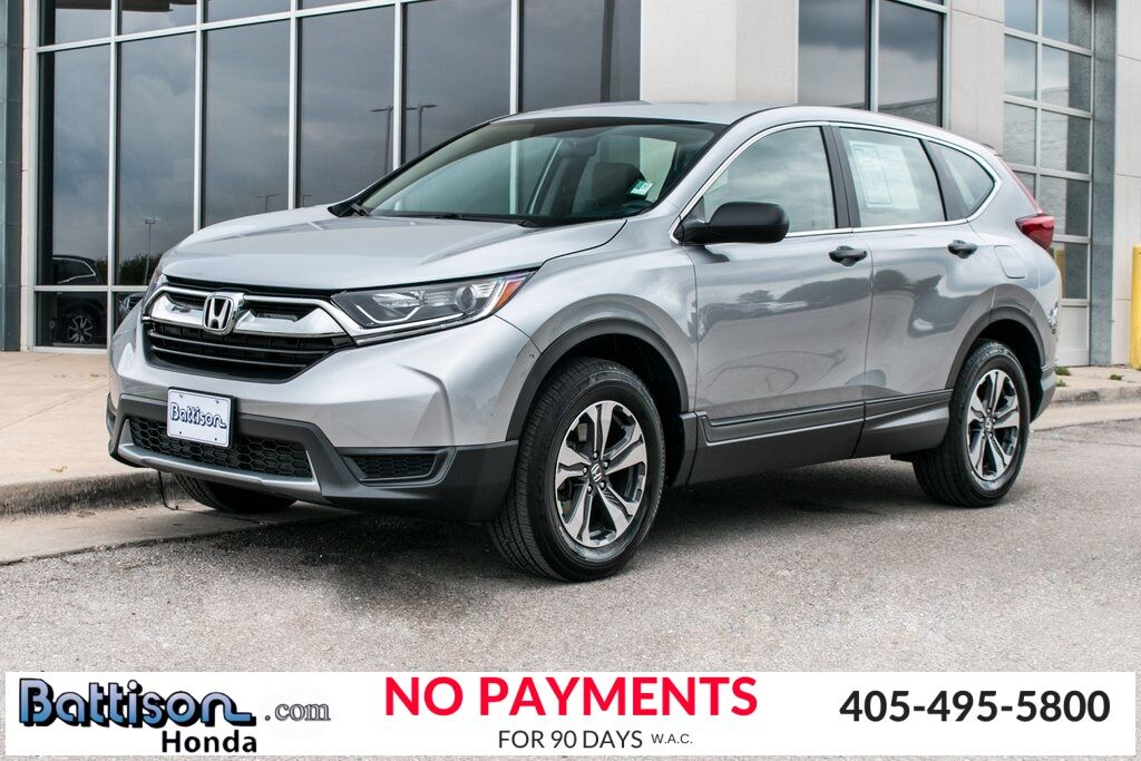 2017_Honda_CR-V_LX_ Oklahoma City OK