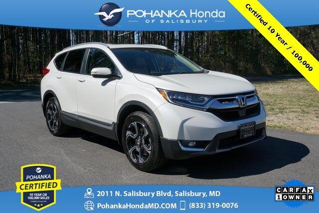 2017 Honda CR-V Touring ** Pohanka Certified 10 Year / 100,000 ** Salisbury MD
